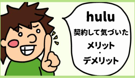 Huluを1年契約して気付いた。本当のメリット、デメリット。