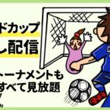 2018ワールドカップ見逃し配信U-NEXT