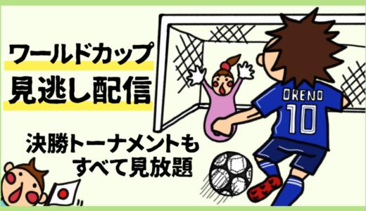 2018年ワールドカップの見逃し動画配信。U-NEXTで決勝トーナメント、日本戦も見放題!