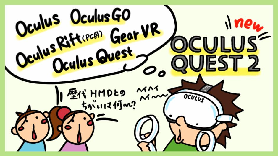 Oculus Questの違い