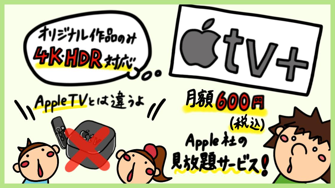 Apple TV+のオススメポイント