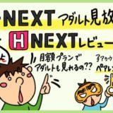 U-NEXTアダルトH-nextレビュー